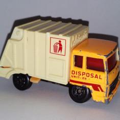 Macheta Matchbox Super Fast camion de gunoi - 1979 - Macheta auto Matchbox, 1:64