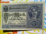 5 mark 1917 Germania , 5 marci germane 1917