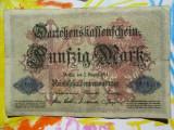 50 mark 1914 Germania , 50 marci germane 1914