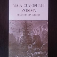 VIATA CUVIOSULUI ZOSIM - SIHASTRU DIN SIBERIA -- 2000, 205 p. - Vietile sfintilor