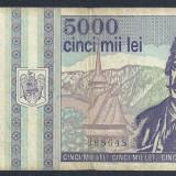ROMANIA 5000 5.000 LEI 1993 [15] - Bancnota romaneasca
