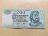 Ungaria  200  Forint  2002 - serie bancnota FB 3963546