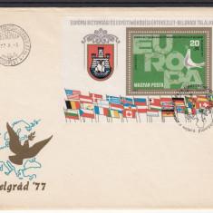 UNGARIA PLIC PRIMA ZI 1977 - LOT 1 ST - Timbre straine