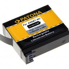 PATONA | Acumulator pt Gopro Hero 4 AHDBT-401 AHDBT 401 AHDBT401 1160mAh