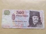 Ungaria  500  Forint  2011