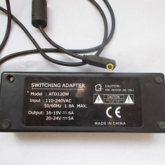 ALIMENTATOR SWITCHING ADAPTER  MODEL ATD 120W . DEFECT !