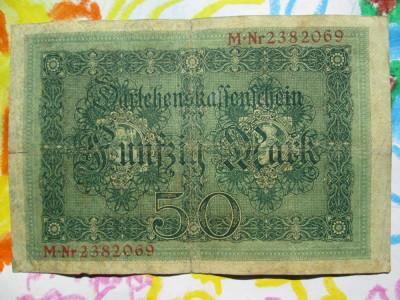 50 mark 1914 Germania , 50 marci germane 1914 foto