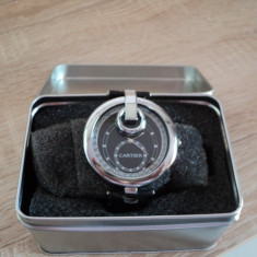 Ceas replica Cartier unisex - Ceas unisex Cartier, Piele - imitatie