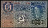 UNGARIA AUSTRIA 20 KORONA COROANE 1913 UNC necirculata
