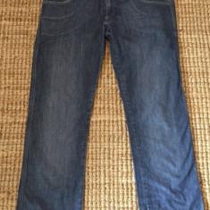 Jeansi originali de dama Calvin Klein - Blugi dama Calvin Klein, Marime: 42, Culoare: Albastru, Lungi