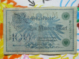 100 mark 1908 Germania , 100 marci germane 1908 serie verde