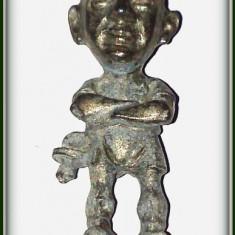 Figurina metalica - fotbalist Valencia( 1993 - 1998 ) - Jose Galvez Estevez - Miniatura Figurina