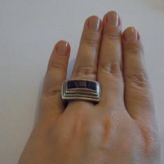 Inel argint model masiv - 223