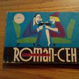 GHID DE CONVERSATIE *  ROMAN - CEH  --  Teodora D.- Alexandru --  1966,  211 p.