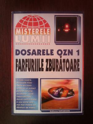 DOSARELE OZN 1 - FARFURIILE ZBURATOARE -- Misterele Lumii -- 2000, 202 p. foto