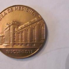 """MMM - Medalie """"Facultatea de Medicina Bucuresti - Promotia 1960"""" bronz lacuit"""