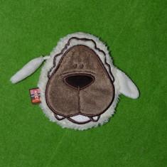 Portofel / portmoneu/ pusculita caine, catel, cu fermoar, Nici, 12x10 cm; - Portofel Dama, Culoare: Rosu