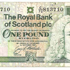 SCOTIA THE ROYAL BANK OF SCOTLAND plc 1 POUND LIRA 1997 U