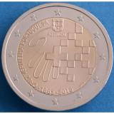 PORTUGALIA 2 euro comemorativ 2015 - Crucea Rosie, UNC