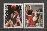 Iugoslavia.2001 Campioni europeni la baschet si volei  SI.792