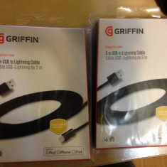 Usb to lightning cable 3m - Cablu de date Griffin