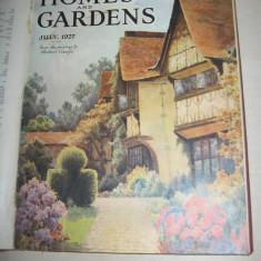CASA SI GRADINA, 1927, DIVERSE NUMERE, EDITATE IN ANGLIA, BOGAT ILUSTRATE, RECLAME - Carte amenajari interioare