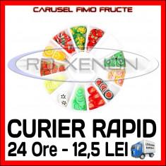 SET CARUSEL FIMO - MODEL CU FRUCTE - Decoratiuni unghii Sina NAIL ART