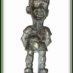 Figurina metalica - fotbalist Valencia ( 1994 - 1997 )- Enrique Romero - Miniatura Figurina
