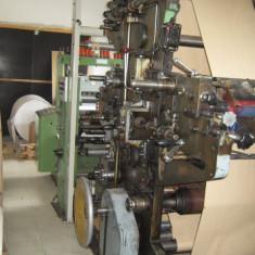 Utilaj taiere hartie longitudinala cu rebobinare in rola - Masina de taiat