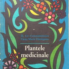PLANTELE MEDICINALE - D. Gr. Constantinescu, E. M. Hatieganu - Carte Medicina alternativa