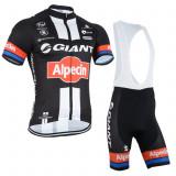 Echipament ciclism complet giant alpecin  set tricou si pantaloni nou, Tricouri