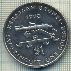 5303 MONEDA - BRUNEI - 1 DOLLAR - 1970 -starea care se vede