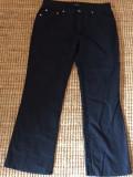 Pantaloni dama TRUSSARDI, mas. M 2+1 gratis, Lungi, Negru