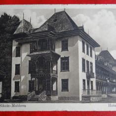 AKVDE - Vedere - Slanic Moldova - Hotelul Puff - Carte Postala Banat 1904-1918
