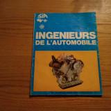 INGENIEURS DE L`AUTOMOBILE - Revue S.I.A. - nr. 3-4 mars-avril 1975