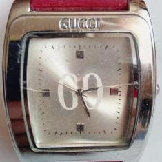 Ceas Gucci, curea din silicon Roberto Toretta - Ceas dama Gucci, Elegant, Quartz, Inox, Analog