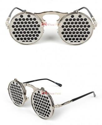 Ochelari Rotunzi Flip-Flop - model STEAMPUNK/GOTHIC - protectie UV400 - Unisex foto
