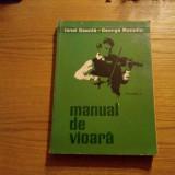 MANUAL DE VIOARA * Volumul II  -- Ionel  Geanta, George Manoliu -- 1968, 310 p.