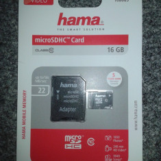 MicroSDHC 16 GB Hama Clasa 10 / Micro SDHC 16 GB Hama Clasa 10 / Micro SD 16 GB - Card memorie