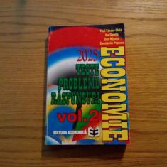ECONOMIE * Teste * Probleme * Raspunsuri * vol II - M. Cosea - 1997 - Carte Management