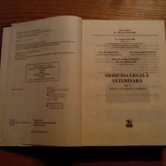 MEDICINA LEGALA VETERINARA 2 Vol. - T. Enache, I. Paul, O. Popesc - 1997 - Carte Medicina veterinara