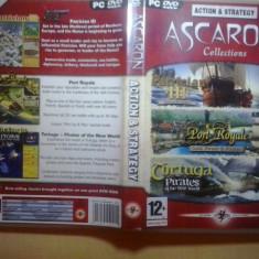 Joc PC - Ascaron Collections PatricianIII Port Royale Tortuga Pirates (GameLand) - Jocuri PC, Strategie, 3+