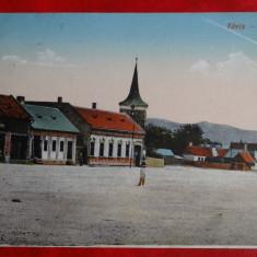 Vedere Teius - Strada - Circulata - KUK - feldpost - Carte Postala Banat 1904-1918