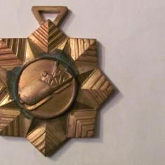 MMM - Medalie Sport Bob in forma de fulg de nea bronz