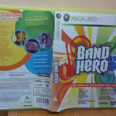 Band Hero - Game Only (Xbox 360) (ALVio) + alte jocuri xbox ( VAND / SCHIMB ) - Jocuri Xbox 360, Simulatoare, 12+