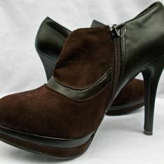 Pantofi cu fermoar/ Ghetute cu fermoar - Pantof dama