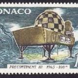 Monaco 1966 - cat.nr.705 neuzat, perfecta stare - Timbre straine