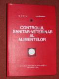Controlul sanitar-veterinar al alimentelor - G. Popa, V. Stanescu