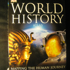 World history atlas - Atlasul istoric al lumii - in engleza editura DK