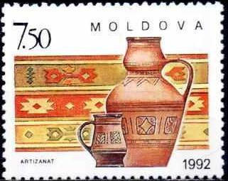 Moldova 1992 - cat.nr.43 neuzat,perfecta stare foto